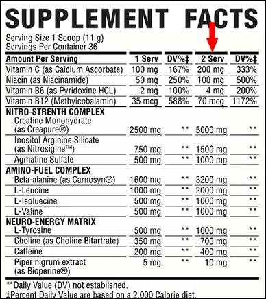 SuperPump Ingredients